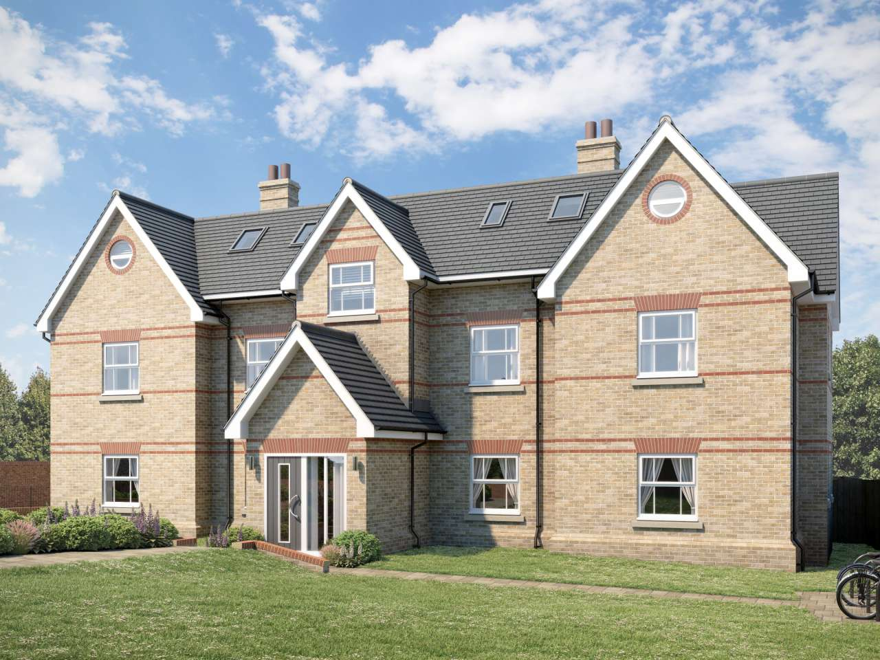 new build apartment  Garden Lane, Royston, SG8 9EG